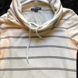 Volcom Striped Hoodie Sweater